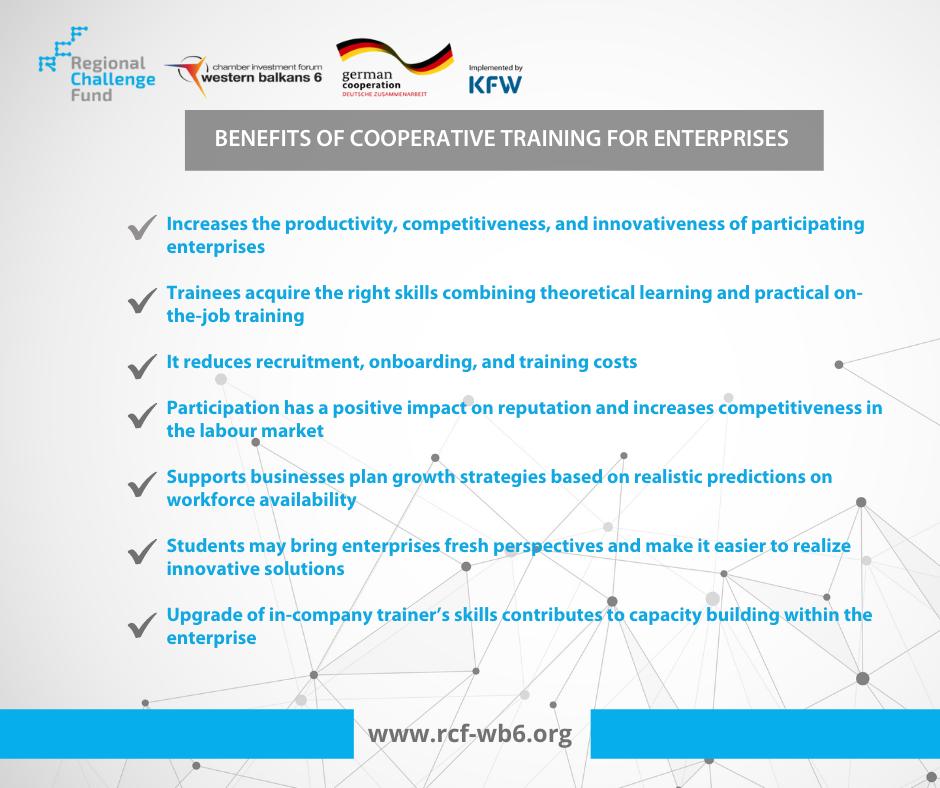 Benefits of Cooperative Training for Enterprises